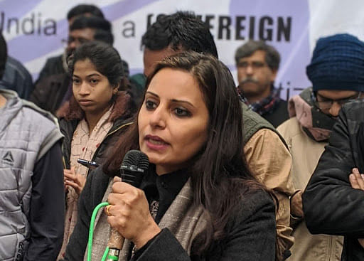 In song and slogan, Jamia Millia students and teachers keep their citizenship law protest going