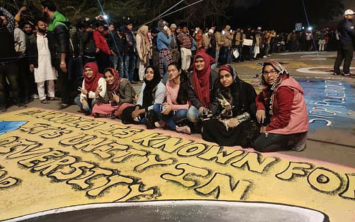 'Sea of people' at Shaheen Bagh as protest against citizenship law nears a month
