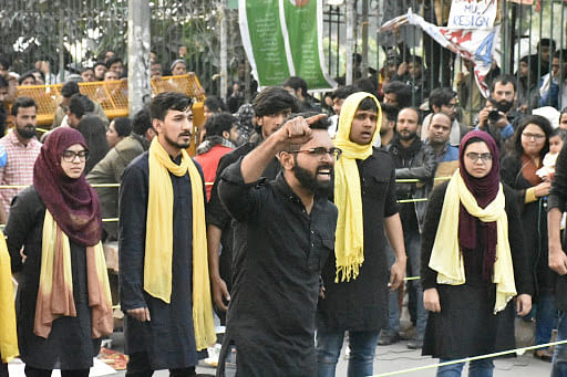 A month after Jamia violence, protesting students are in no mood to give up