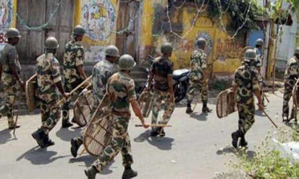Ultras fire at security forces: Gunbattle in south Kashmir