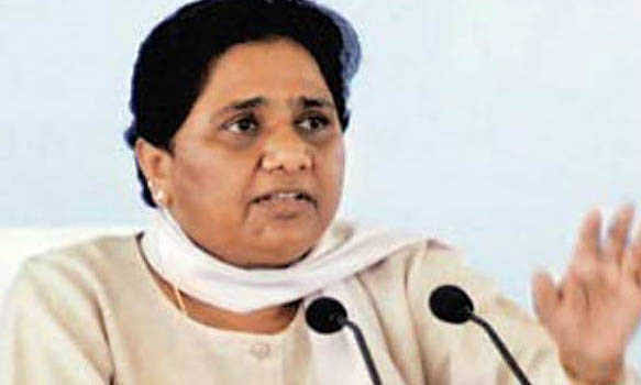 Mayawati backs BJP on Article 370; slams Cong., Oppn.