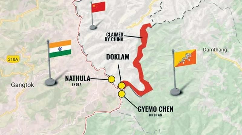 China reiterates Doklam claim