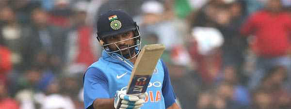 Rohit powers India to series-levelling 8 wicket victory over Bangladesh