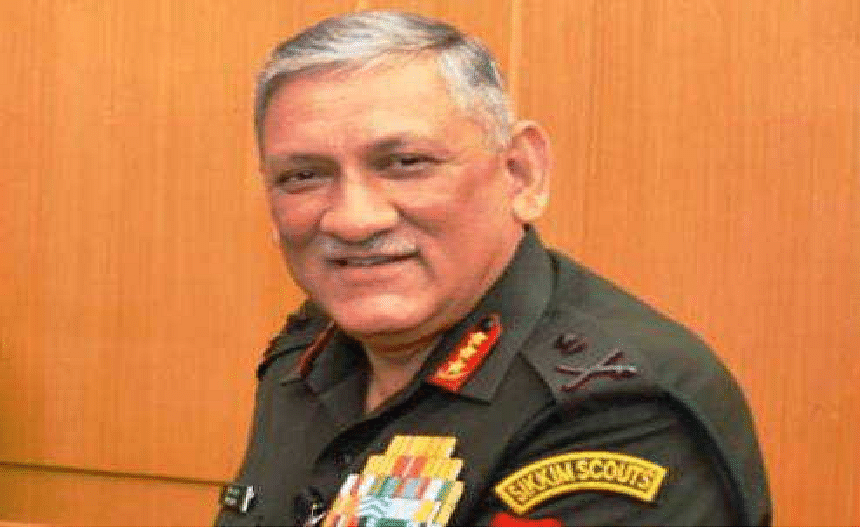 Gen Rawat to visit Ladakh tomorrow, to take stock of security situation