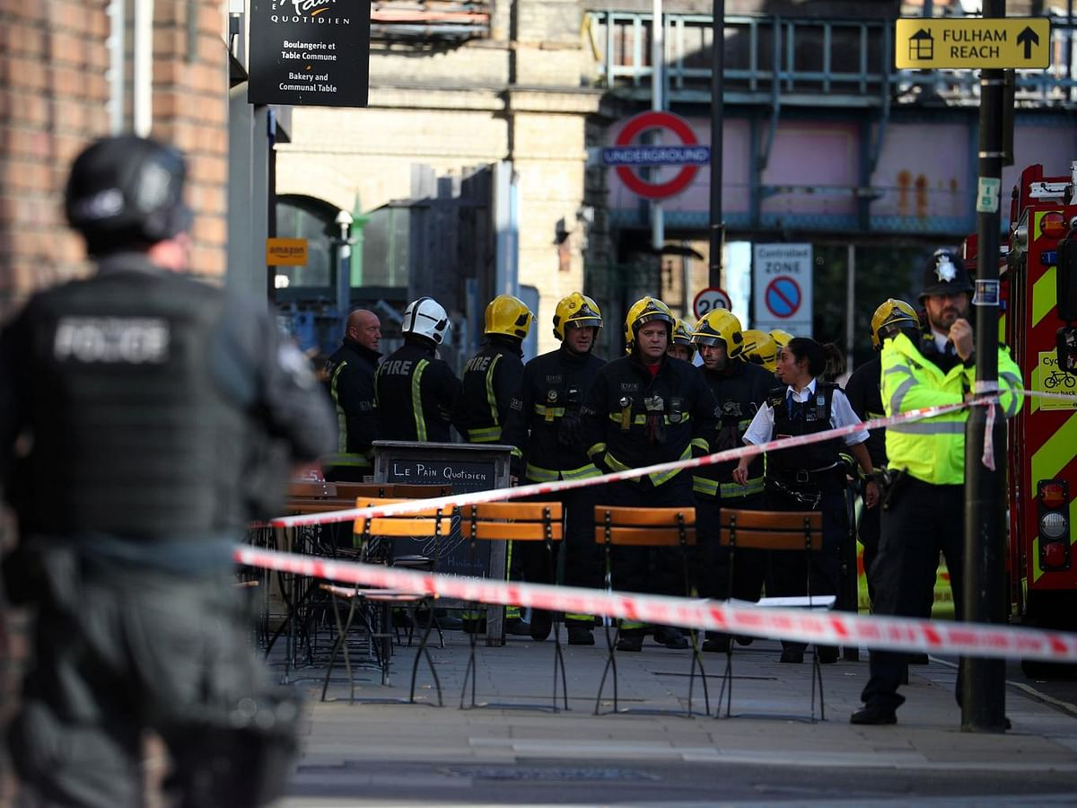 The London blast is an act of terrorism.
