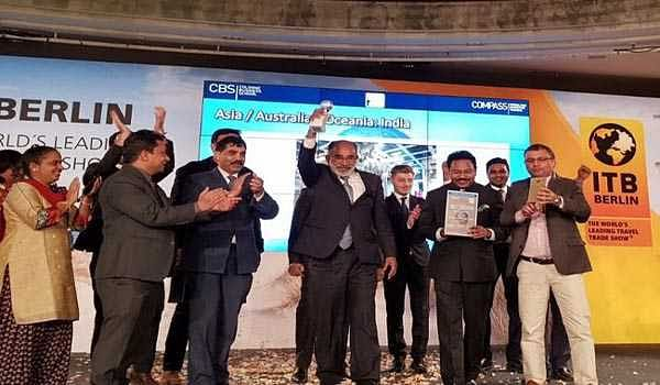 India wins 'Best Exhibitor Award' at ITB in Berlin