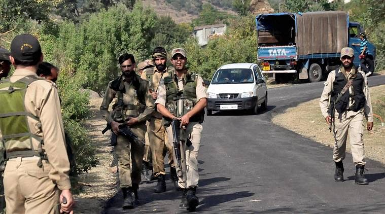 Security Forces launch search operation in south Kashmir