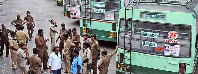 TSRTC strike enters 19th day ; commuters suffering continues