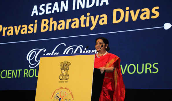 Swaraj asks diaspora in ASEAN to invest in India