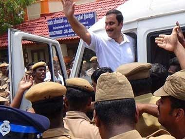 Anbumani Ramadoss, aides arrested