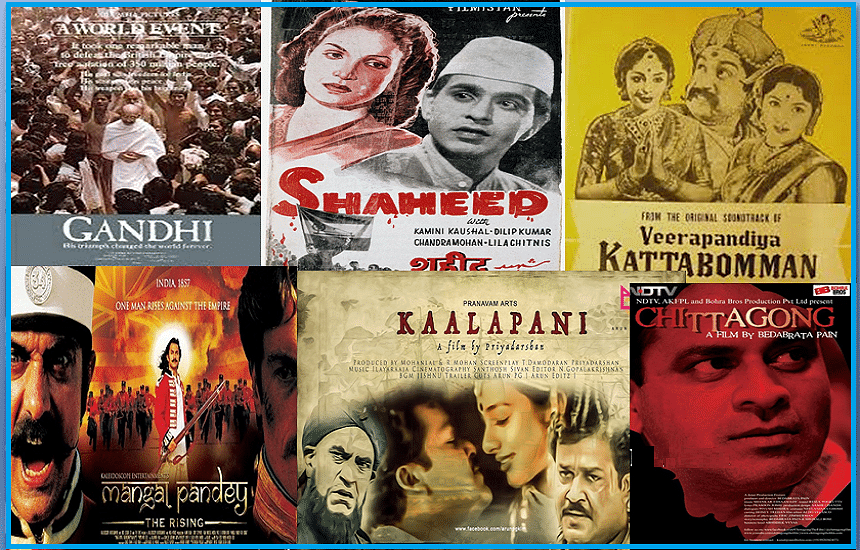 Indian Independence movement on celluloid