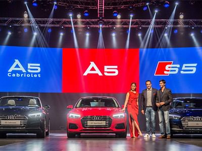 Audi drives in A5 Sportback, Cabriolet & S5 Sportback in India