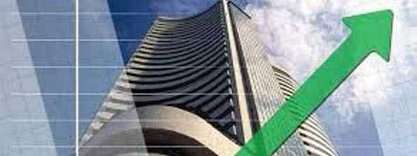 Sensex rises by 109.65 pts