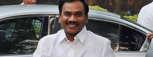 A Raja gets a letter of approval from Manmohan Singh
