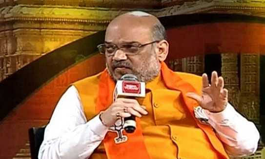 Amit Shah mocks at Congress over 'family balm' on AgustaWestland