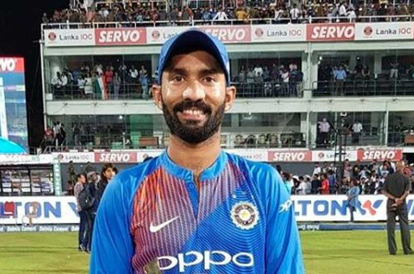 Dinesh Karthik Man of the match; Sundar Man of the series