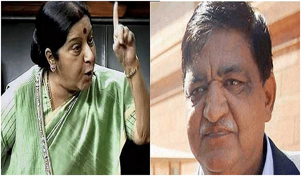 Sushma Swaraj condemns Naresh Agrawal's comment on Jaya Bachchan