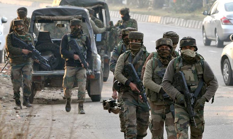 Person allegedly trying to enter camp killed by SF in Shopian