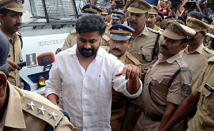 Dileep under tight security at his residence to perform Shradha
