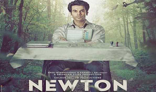 Rajkummar Rao nominated for Best actor for 'Newton ' at Asia Pacific Screen Awards