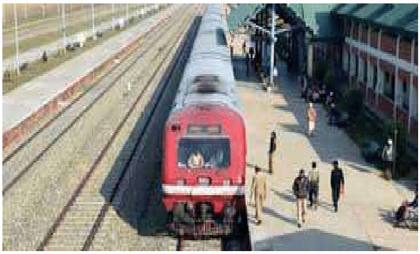 Train service again suspended in Kashmir for security reasons
