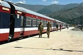 Train services suspended again in Kashmir for security reasons