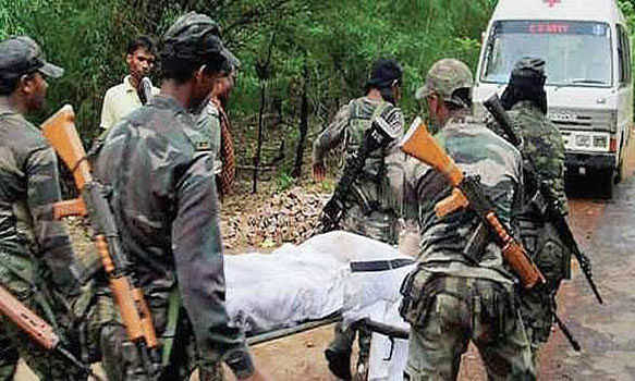 12 CRPF Jawans killed in IED blast by terrorists at Pulwama in Kashmir