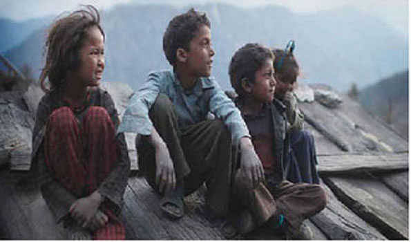 29 out of 100 are poor in Nepal