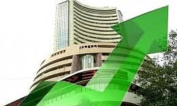 Sensex opens higher by 200 pts