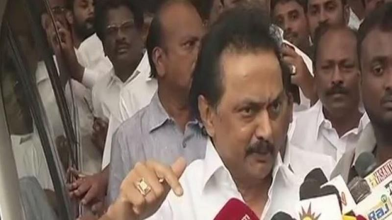 M K Stalin demands govt to quash appointment of Assembly secretary