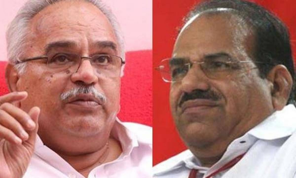 CPM-CPI leaders in kiss and patch-up mood