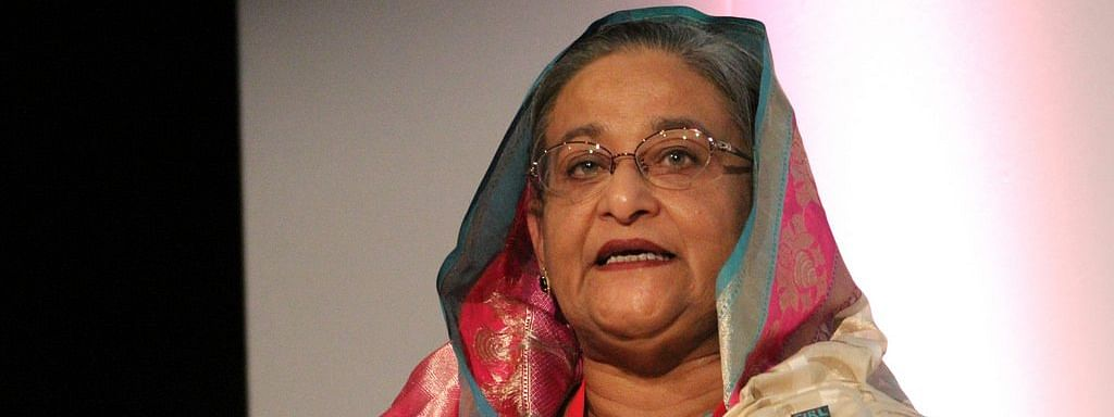 Death threat won't stop me, says Hasina