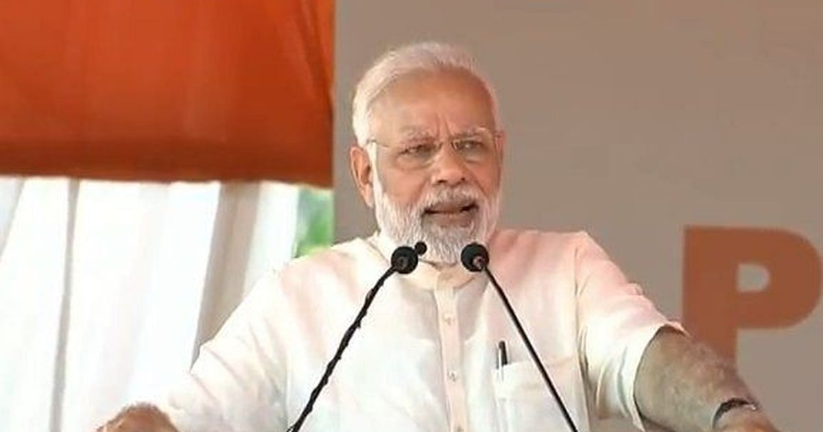 Congress will have one CM in South after June :Modi