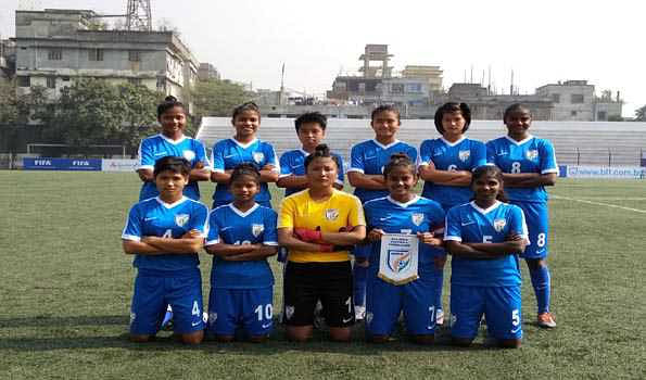 India qualifies for final  in SAFF U15 women championship