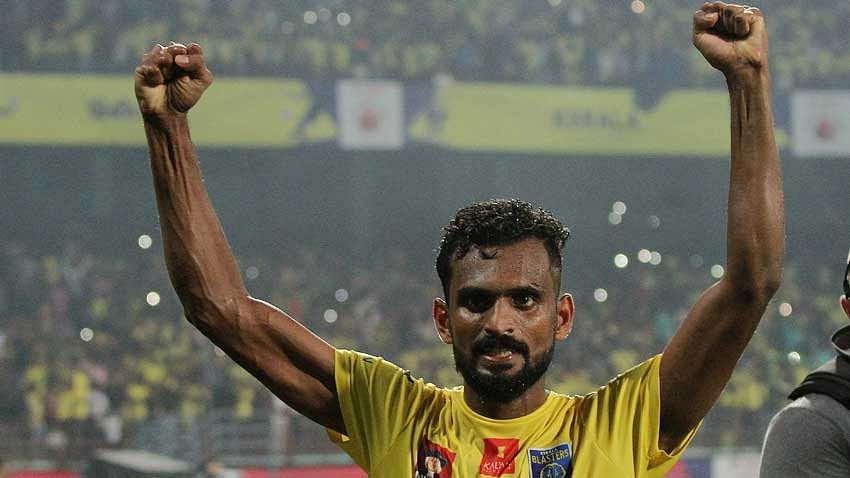 A special goal from Vineeth helps Kerala Blasters to win