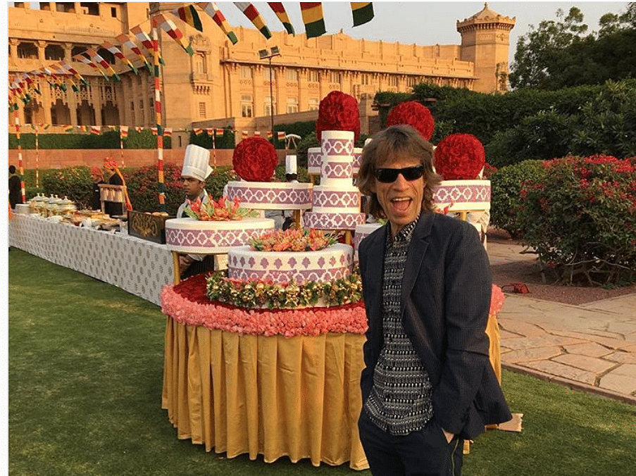Mick Jagger is now in India