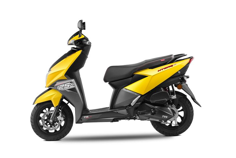 TVS unveils its first 125cc scooter