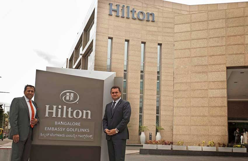 Hilton signs with Embassy group to develop two hotels in Bengaluru city
