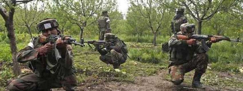 Encounter ensues between militants, security forces in south Kashmir