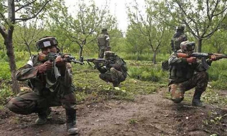 Militant escapes after brief encounter with SF in Shopian