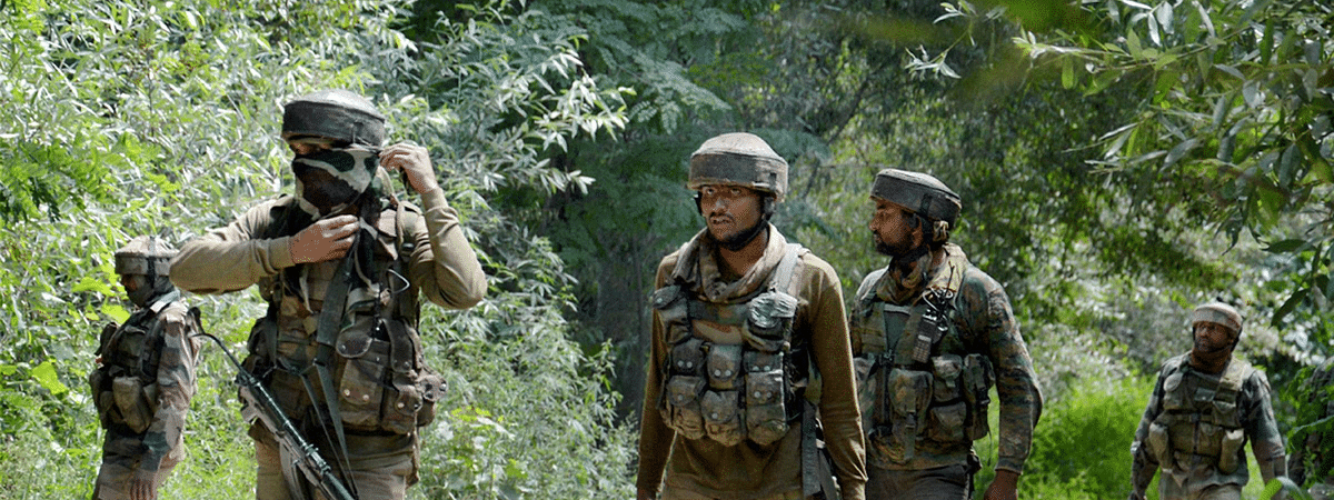 Four militants killed by security forces in Shopian encounter