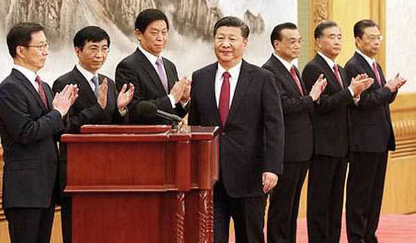 China unveils 'new era' cabinet lineup as Xi begins second term