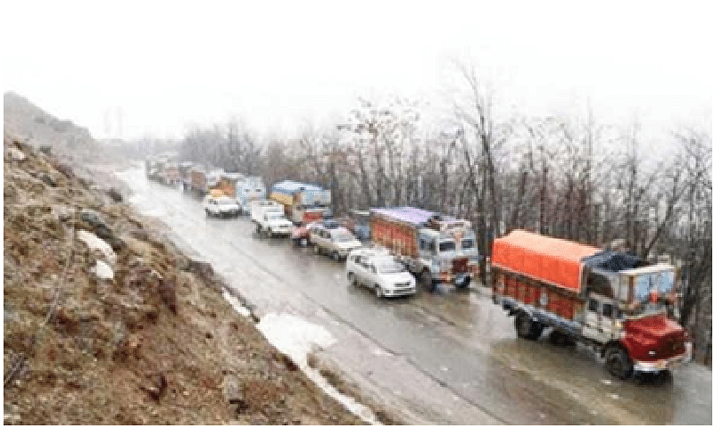 Kashmir highway, historic Mughal road closed