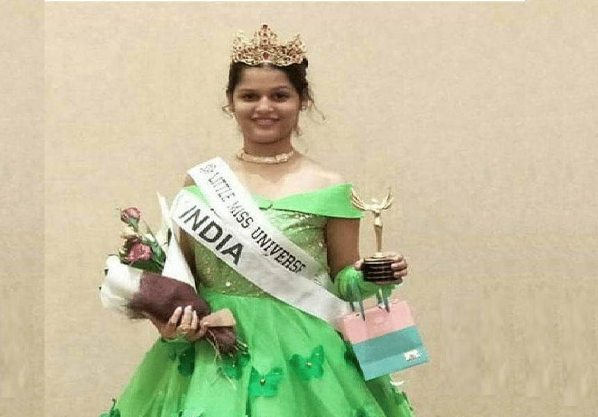 Indian girl bags Little Miss Universe Internet 2017 crown at Little Miss Universe in Georgia