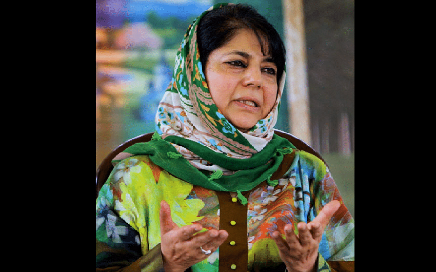 Positivity exhibited by Rajnath will put balm on wounds of Kashmiris: Mehbooba