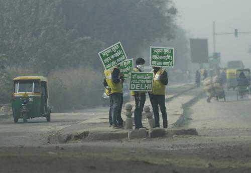 Air pollution level enters red zone, EPCA takes preventive measures
