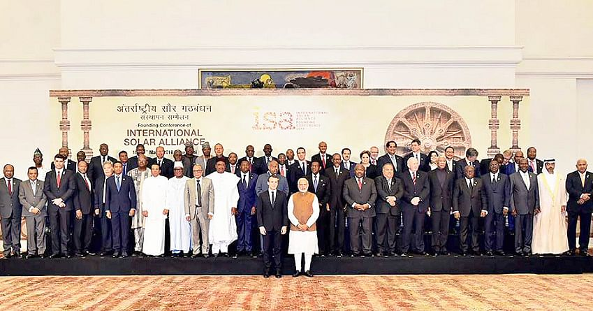 Global leaders hail New Delhi's initiative for ISA