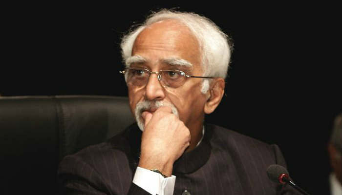 Hamid Ansari: Muslims feel insecure and unease