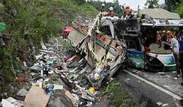 27 killed in Indonesia bus accident