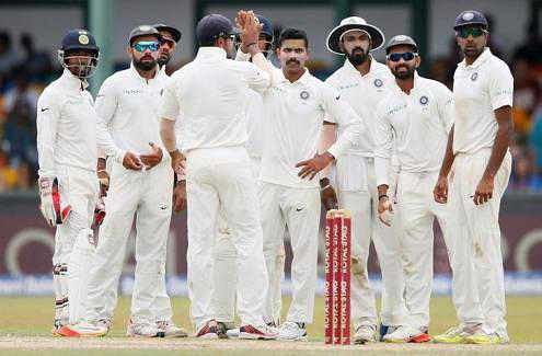 India beat Sri Lanka by innings and 53 runs to clinch series